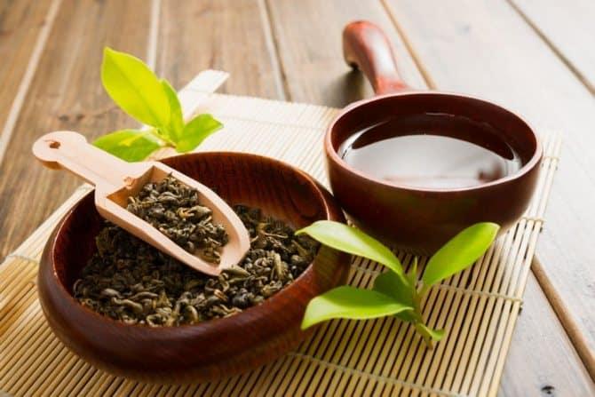 Зеленый чай для красоты кожи