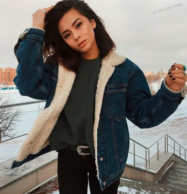Джинс женские куртки