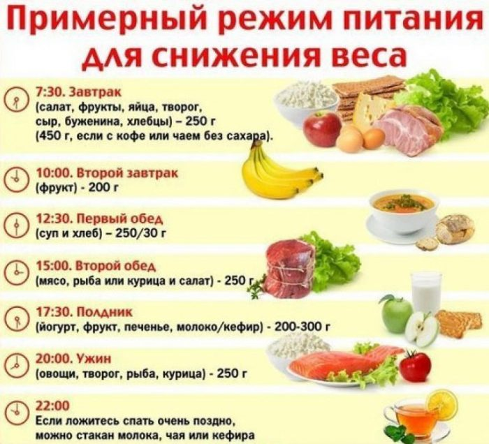 правильное питание для похудения дома