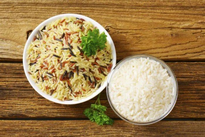 Низкокалорийный вареный рис в кулинарии