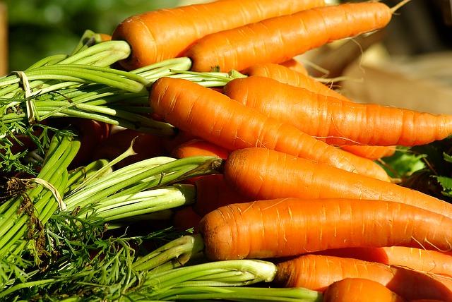 Морковь и меню диеты