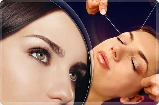 Косметологи рассказали о коррекции бровей нитью