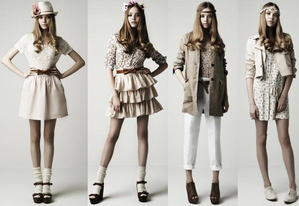 коллекция женской одежды от Zara