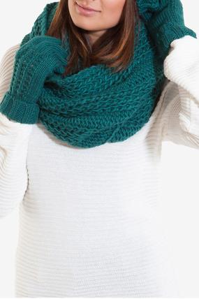 Зимняя коллекция женских шарфов и варежек 2013-2014 (ФОТО)