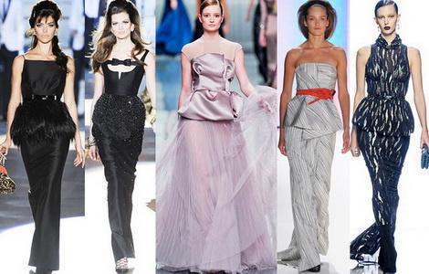 Коллекция вечерних платьев зима 2013-2014
