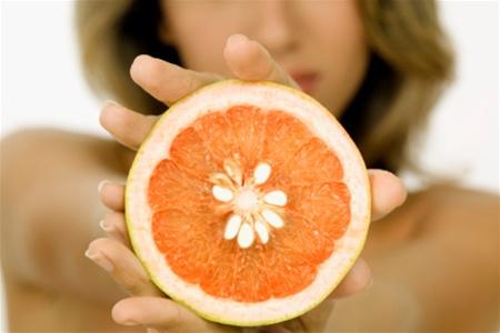 Грейпфрут в борьбе с лишними килограммами!