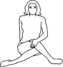 Упражнение «Кренделек»