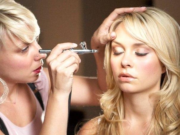 Аэрограф для макияжа