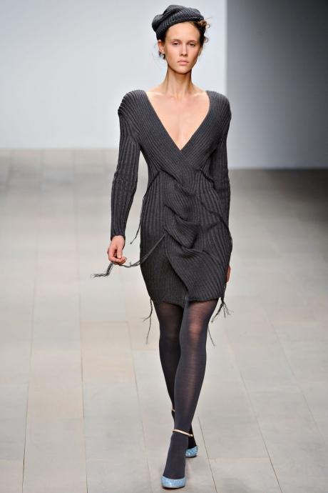 Тренд сезона: вязаные платья (ФОТО)