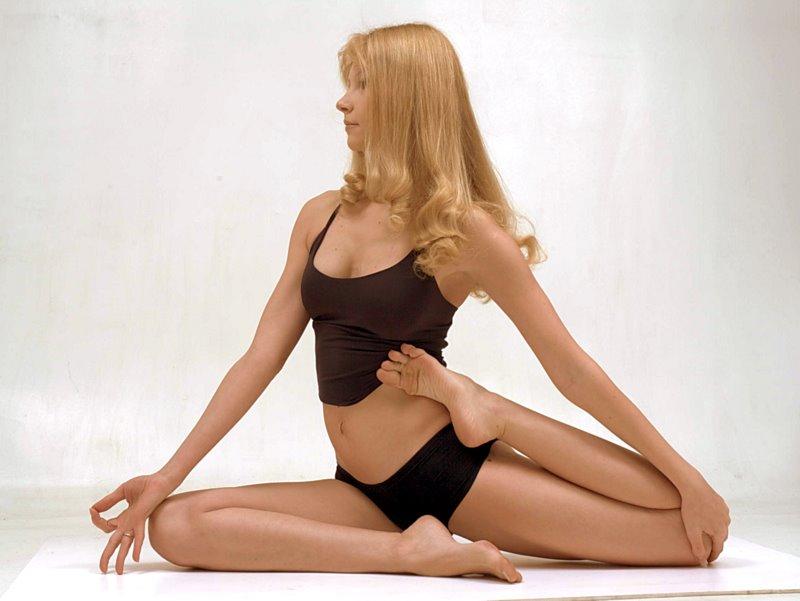 Йога помогает при целлюлите