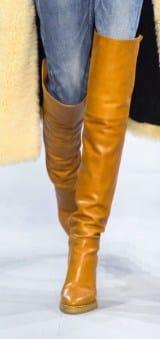 модная-обувь осень 2020 ботфорты