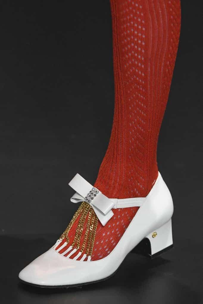 туфли с бантами осень 2020