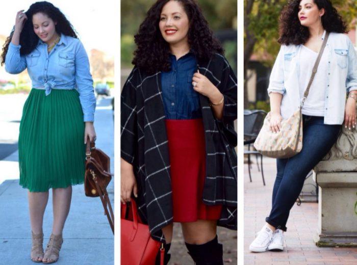 Блуза на крупных женщин