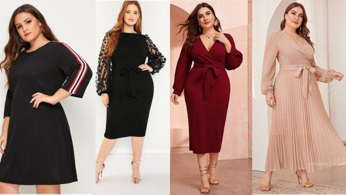 Выбрать одежду для полных женщин