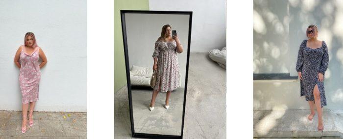 Платья для пышных форм