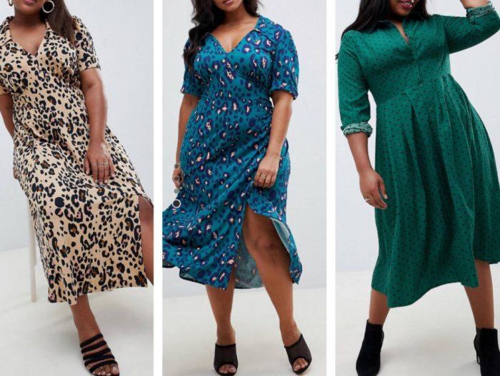 Важно правильно выбрать одежду для полных женщин